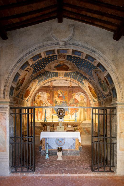 Seggiano, abbazia di San Salvatore